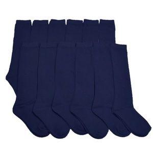 Other - Bundle of Navy Girl's Socks